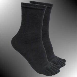 Ninja Tabi Socken, schwarz von KWON® - Universalgröße - 1.jpg