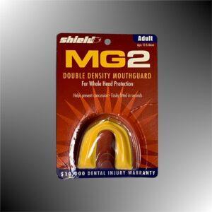 Zahnschutz MG2 für Erwachsene von SHIELD-2-stufig-gelb